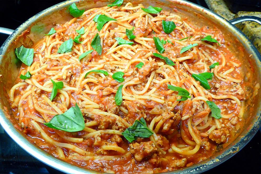 One Pot Turkey Spaghetti 30 Minute Meal