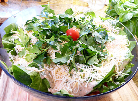 Beat the Heat Dinner:  Cornbread Salad