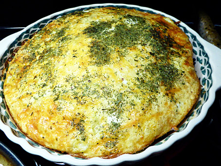Easy Egg Puff for Breakfast or Supper
