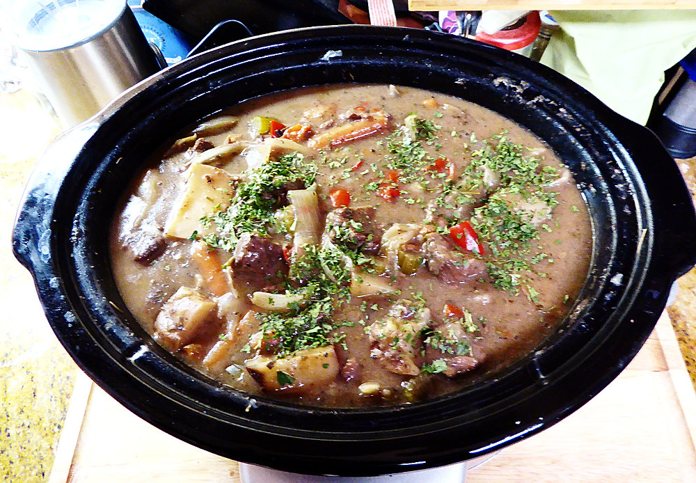 Slow Cooked Beef Cabernet
