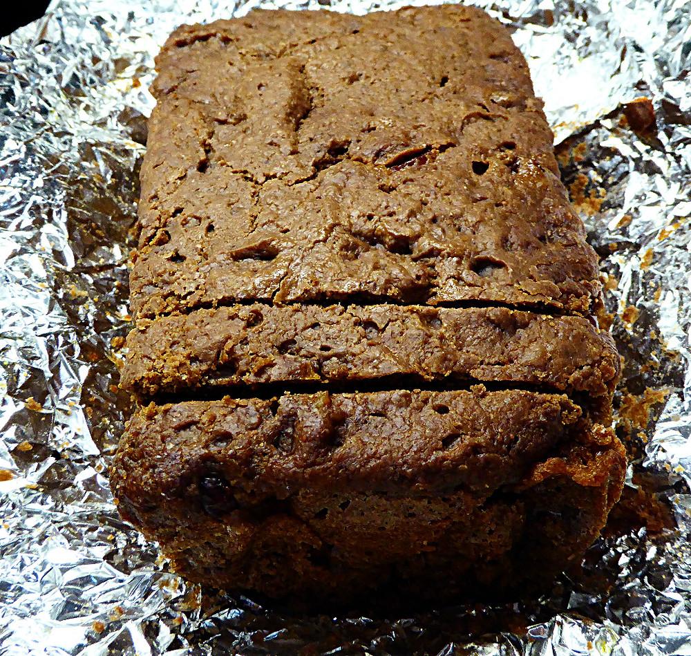 No-Knead Sourdough Chocolate-Walnut Bread