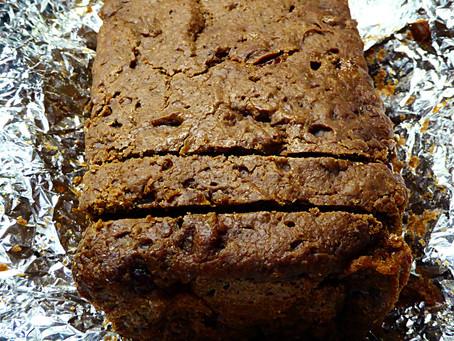 Lots of Discard Day?  Make No-Knead Sourdough Chocolate-Walnut Bread