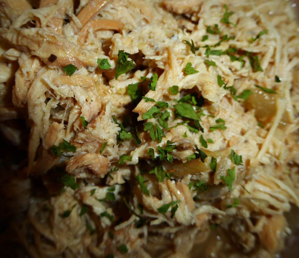 Chicken Braised with Moscato Wine
