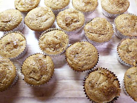 Simple Hazelnut-Pear Muffins