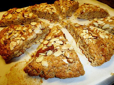Saturday Treat:  Simple Almond Scones