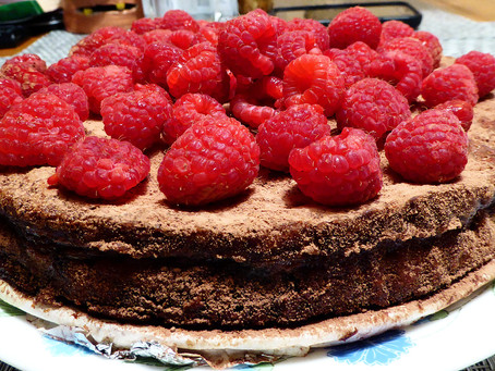 Make Ahead Thanksgiving Dessert:  Chocolate Rum Pie