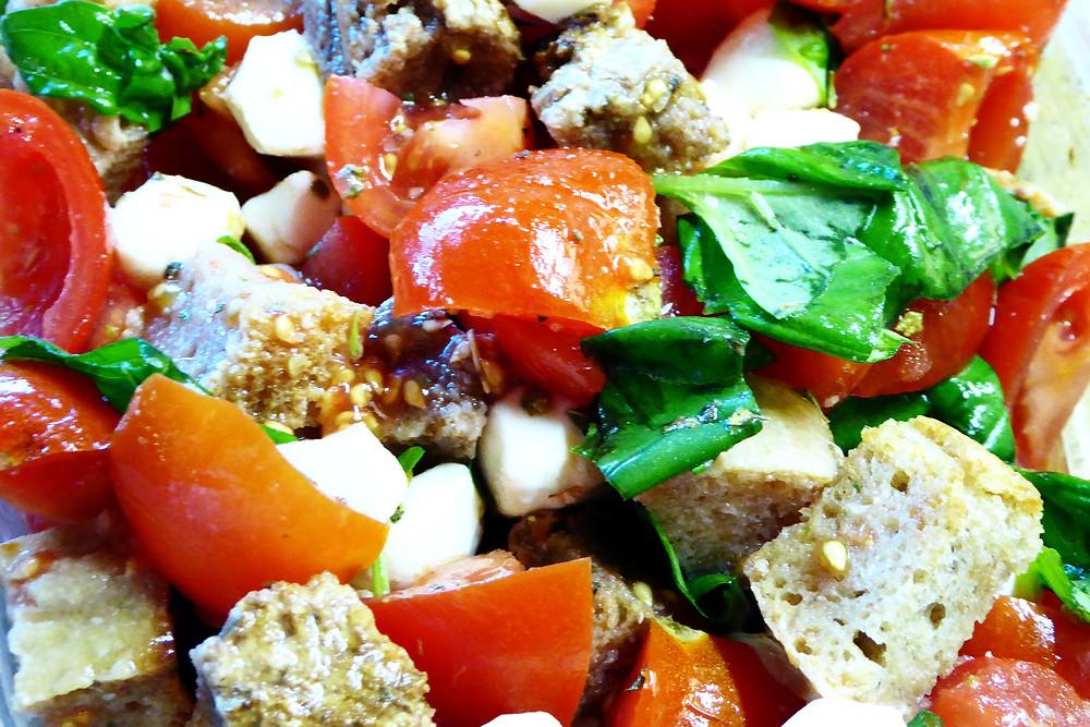 Sourdough Panzanella Salad