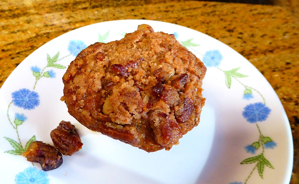 Refrigerator Banana Bran Streusel Muffins:  Bake Some Now, Some Later