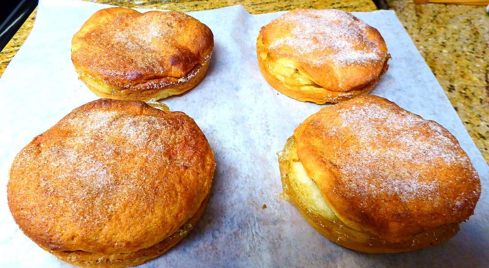 Quick Dessert:  Air Fryer Apple Biscuit Pie
