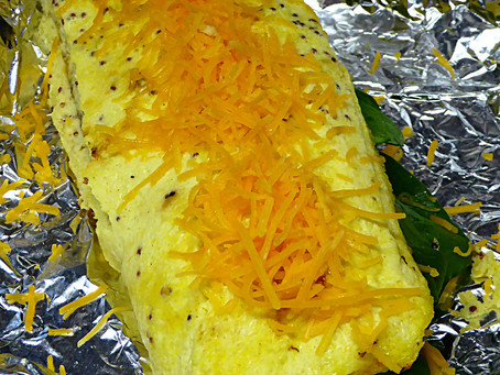 Need a Brunch Dish for Father's Day?  Try a Spinach Egg Roll