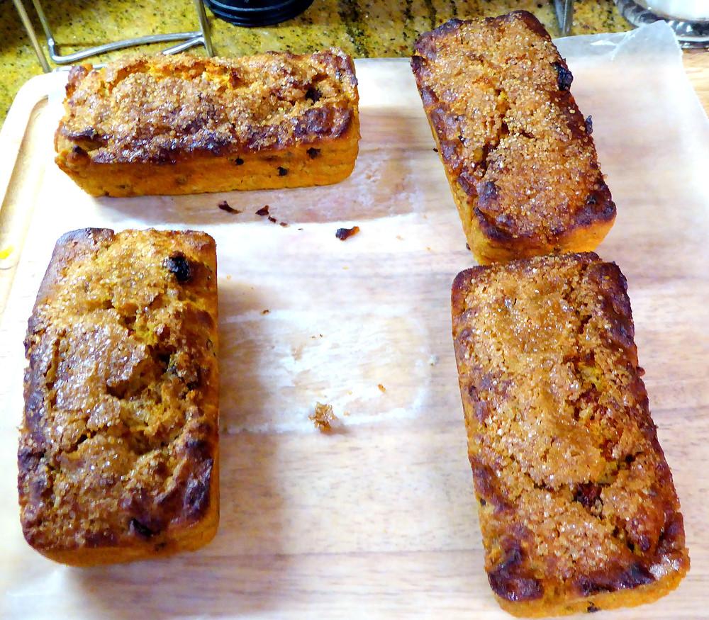 Air Fryer Mini Carrot Breads