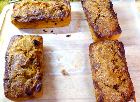 Too Hot to Bake?  Make Air Fryer Carrot Breads