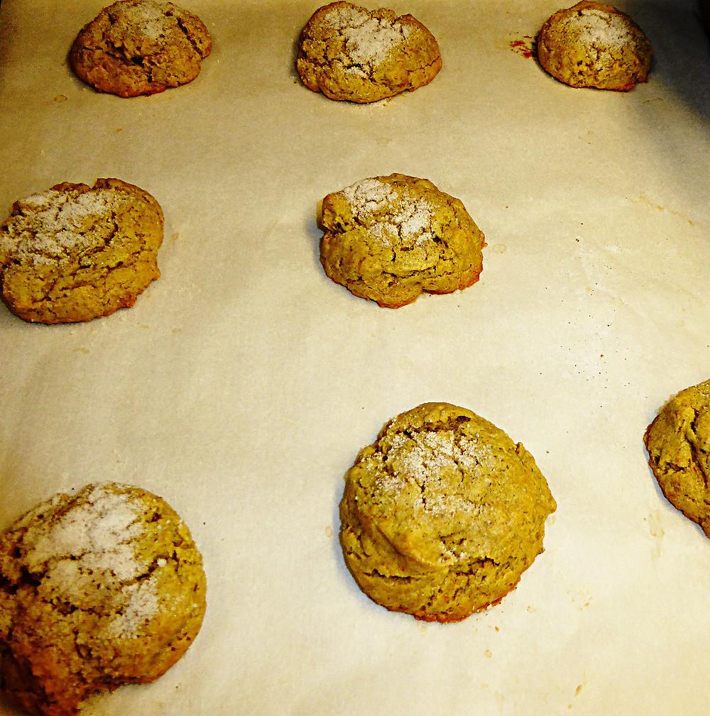 Pistachio Doodle Cookies