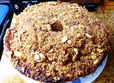 Summer Weekend Dessert:  Berry-Almond Cake