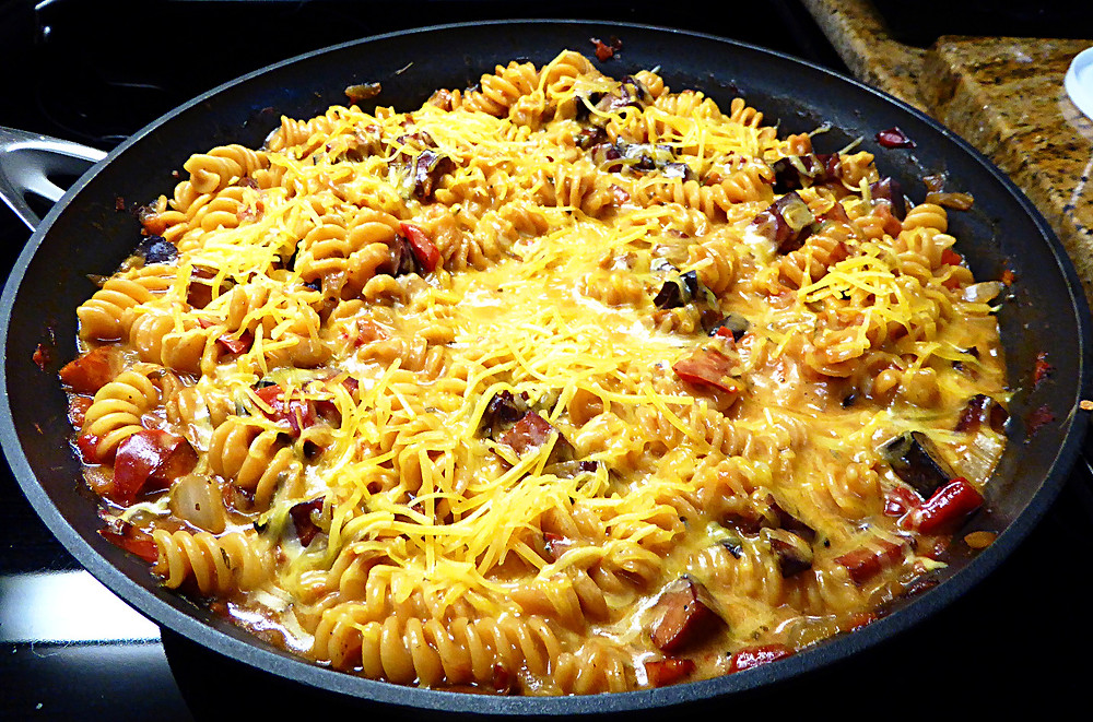 Cheap and Tasty Denver Pasta Skillet