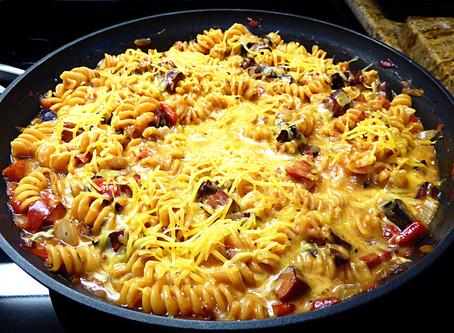 Wednesday Night Wonder:  Denver Pasta Skillet