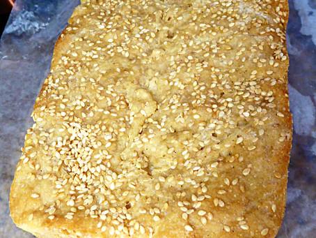 Sourdough Feeding Time:  Make No-Knead Honey-Sesame Wheat Bread