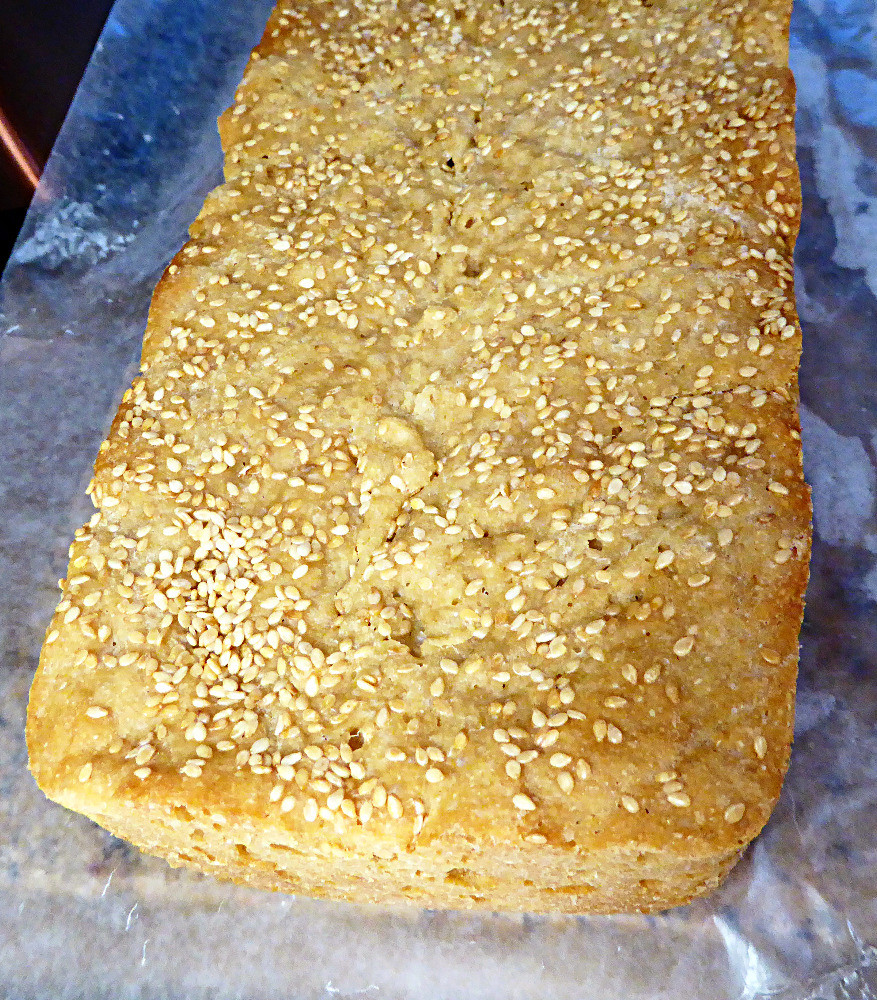 No-Knead Honey-Sesame Wheat Bread