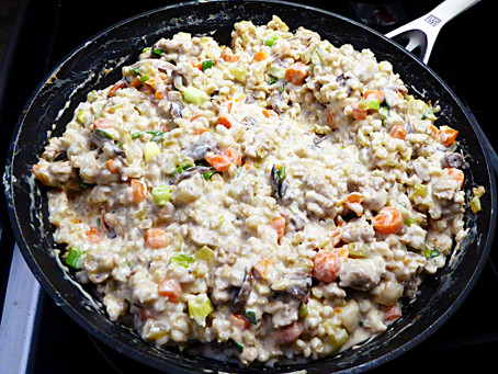 Tired of Cooking?  Make a Cheap, Quick, and Nutritious Barley Skillet Meal