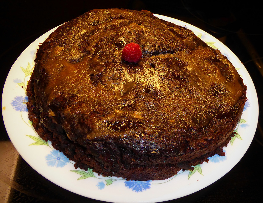"""Steamed Chocolate """"Pudding"""" Cake, Better Than Flourless Chocolate Cake"""