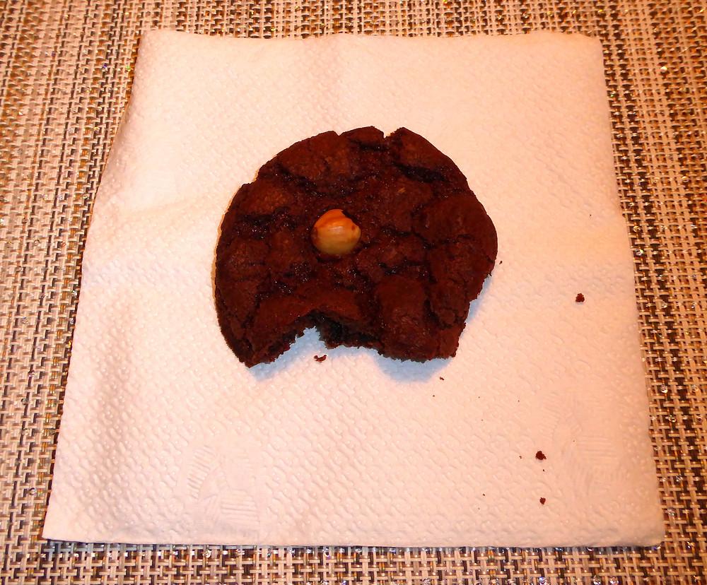 Air Fried Chewy Chocolate Hazelnut Cookies