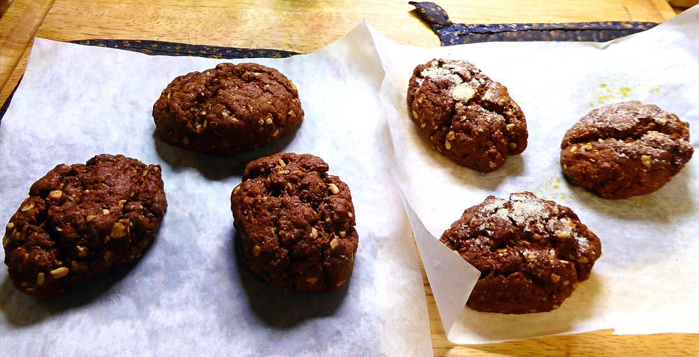 Air Fryer Italian Breakfast Cookies Chocolate
