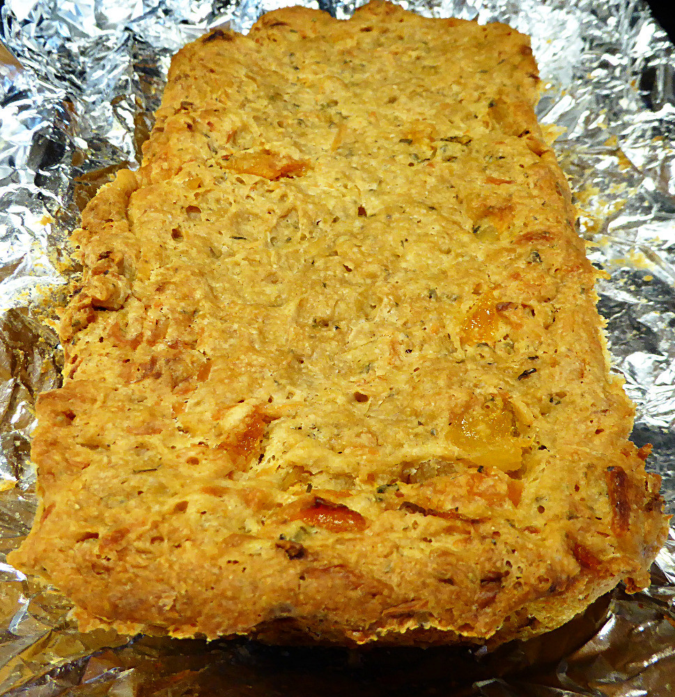 Apricot Mint Goat Cheese Bread