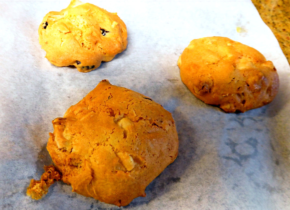 How to Use a Cake Mix to Make Air Fryer White Chocolate Cherry Almond Cookies