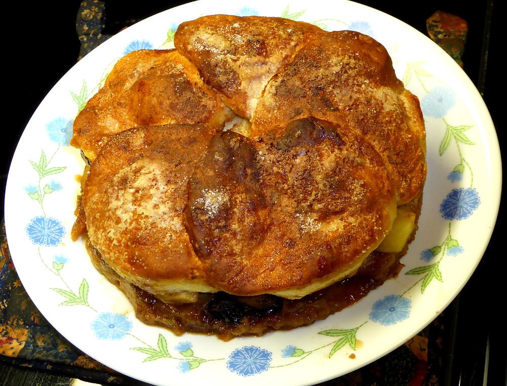 Air Fried Apple Biscuit Pie