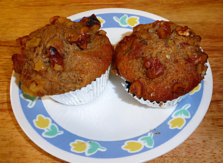 Weekend Muffins:  Spiced Pear