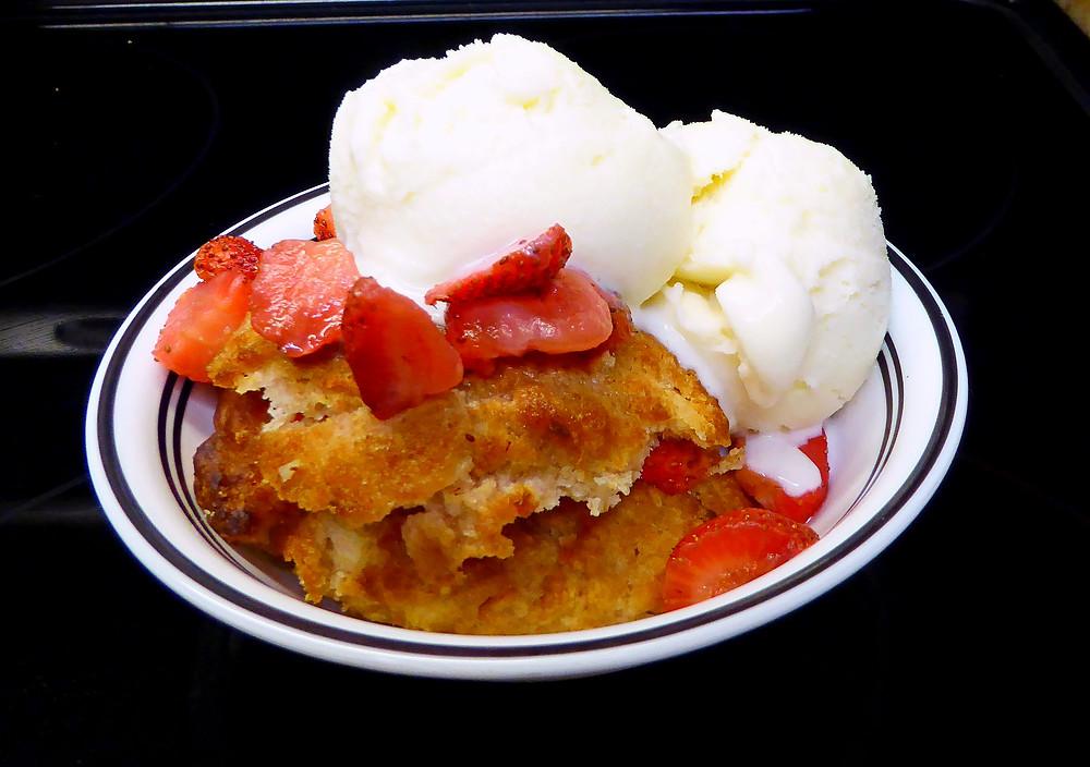 Use Your Discard to Make Sourdough Strawberry Shortcakes