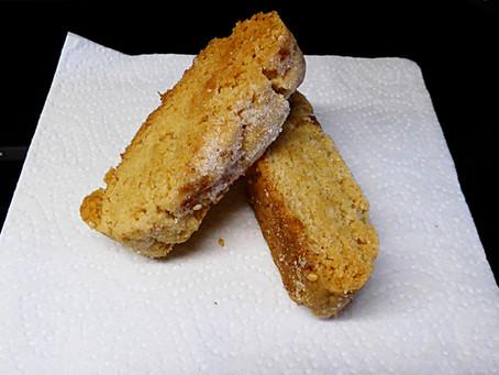 Open Sesame Tahini Biscotti