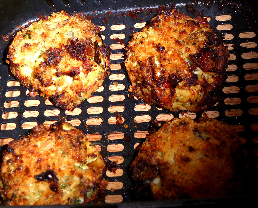 Air Fried Crab Cakes