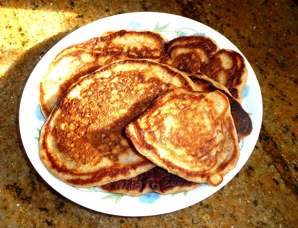sourdough whole grain pancakes shrove Tuesday