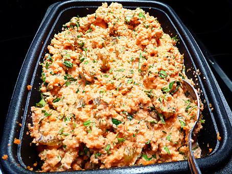 Go Beyond Lettuce:  Creamy Carrot and Pistachio Salad