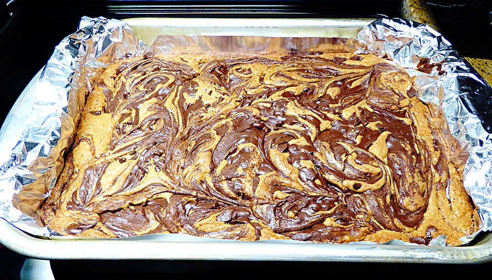 Gotta Have Peanut Butter and Chocolate Swirl Bars
