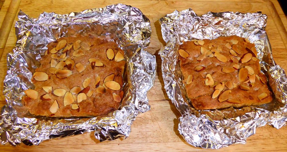 Need a Quick Dessert?  Make Air Fryer Almond Blondies