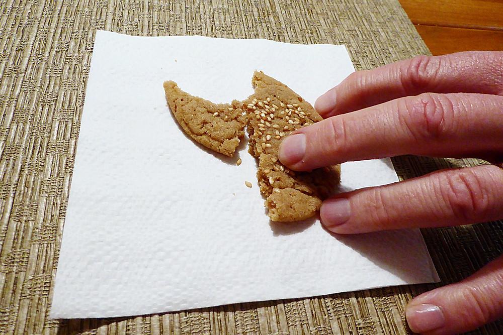 Easy Tahini Sesame Cookies