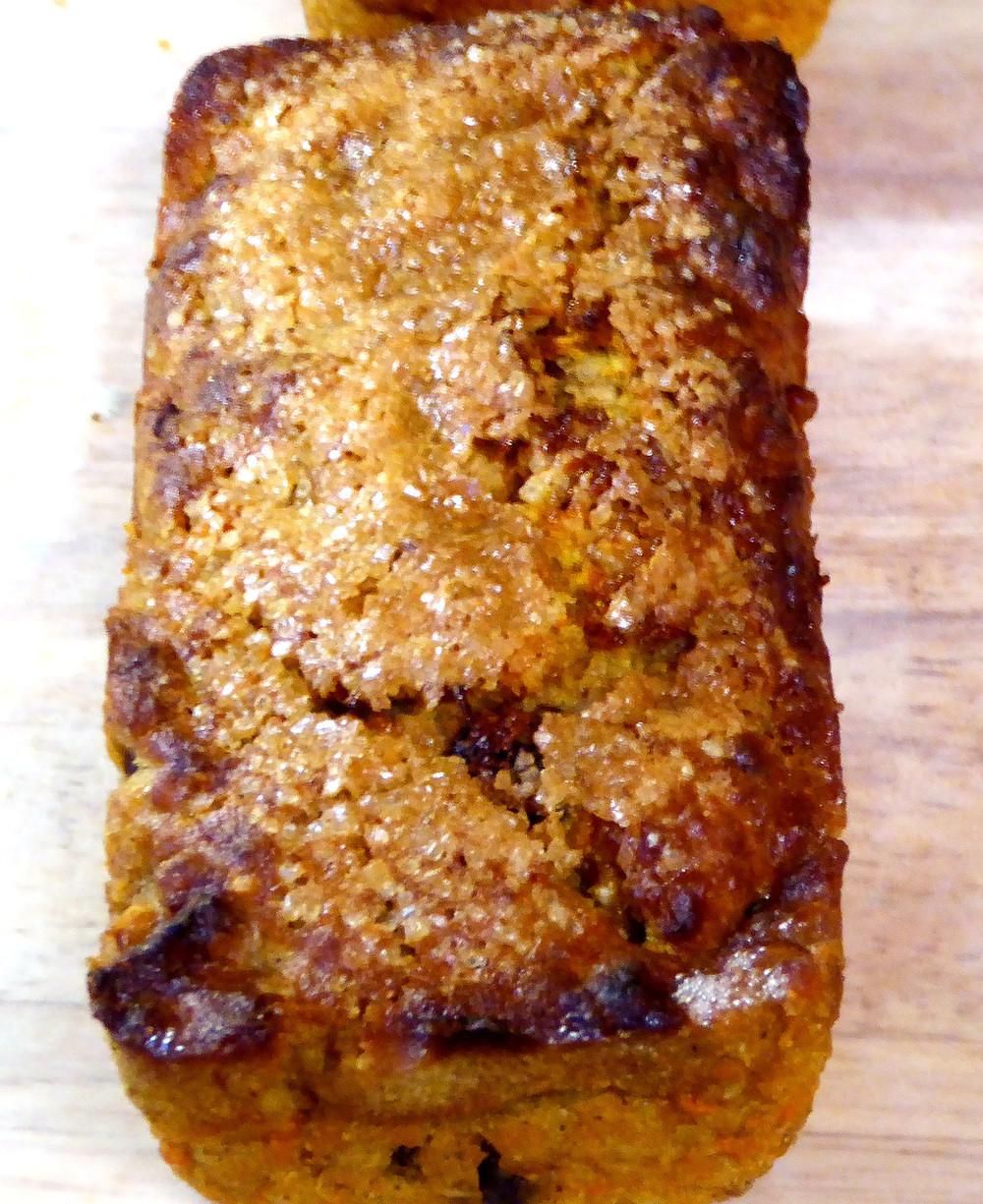 Air Fryer Carrot Bread Mini Loaves