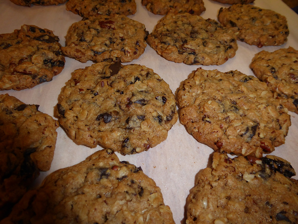 Advent Oatmeal Cookies