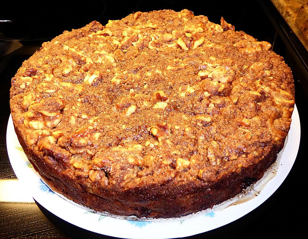 Easy Thanksgiving Dessert:  Persimmon Cake