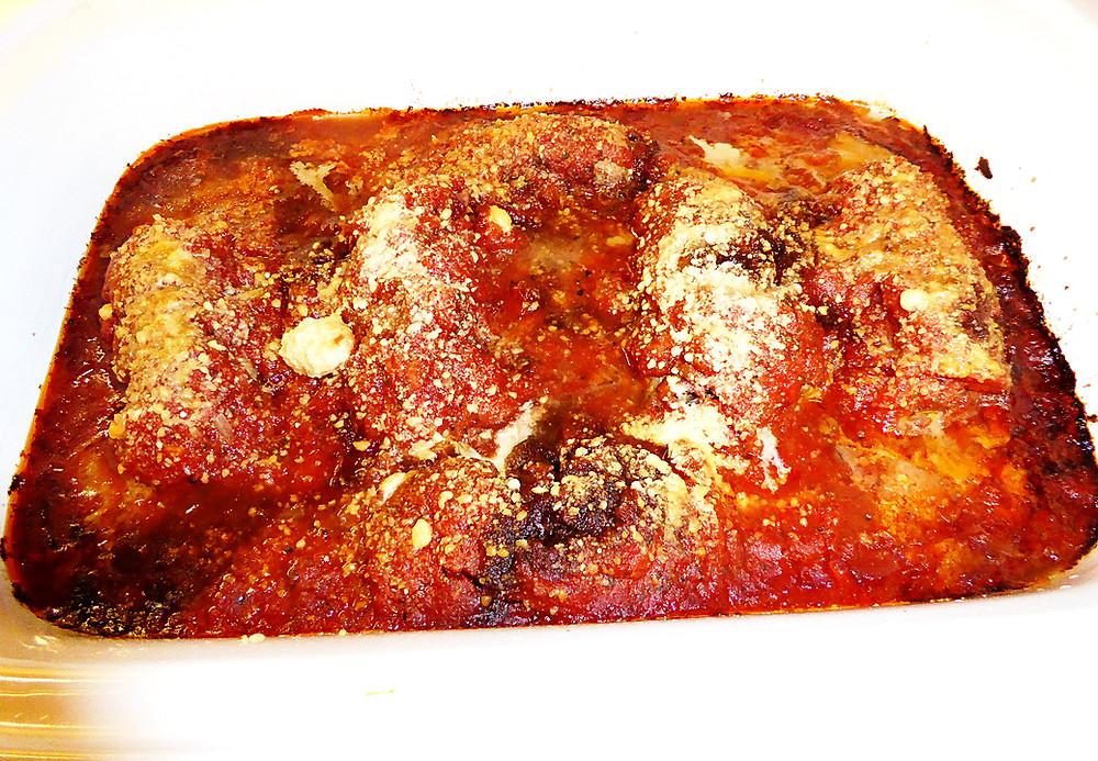 Involatini:  Sausage Stuffed Beef Rolls