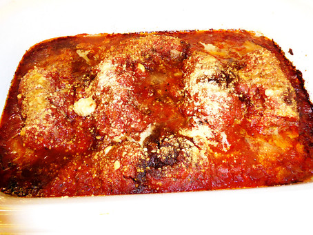 Super Sunday Dinner:  Sausage Stuffed Beef Rolls