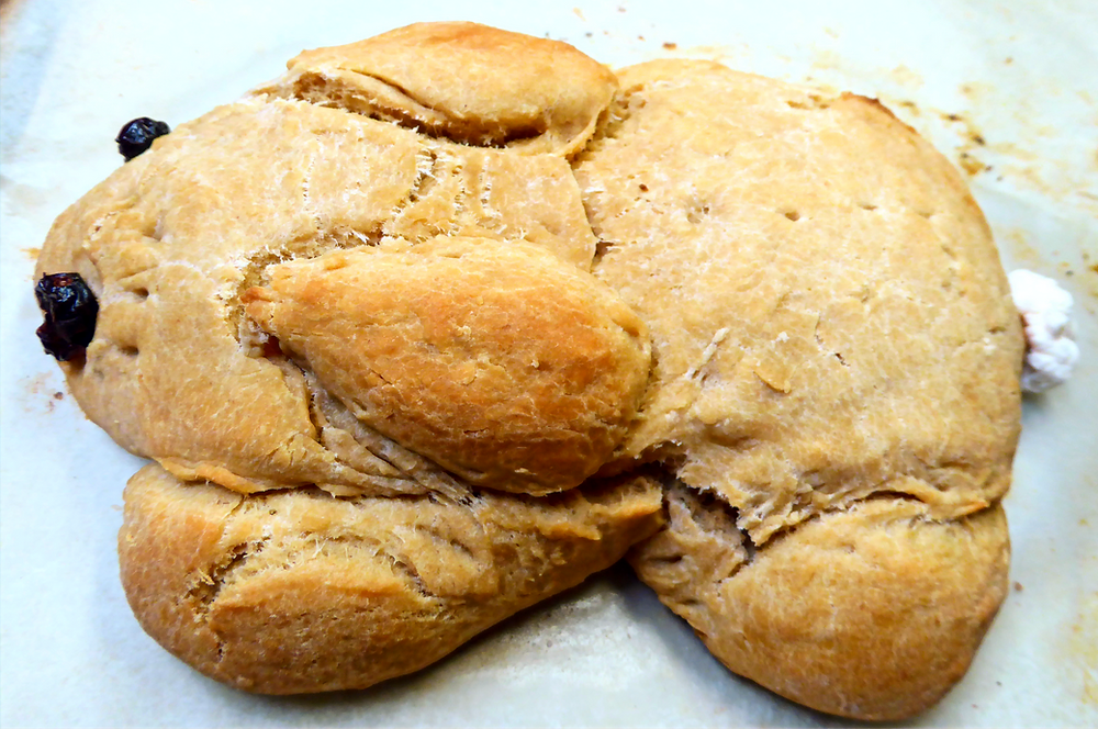 Need a Special Bread for Easter?  Make Sourdough Honey-Bunny Bread