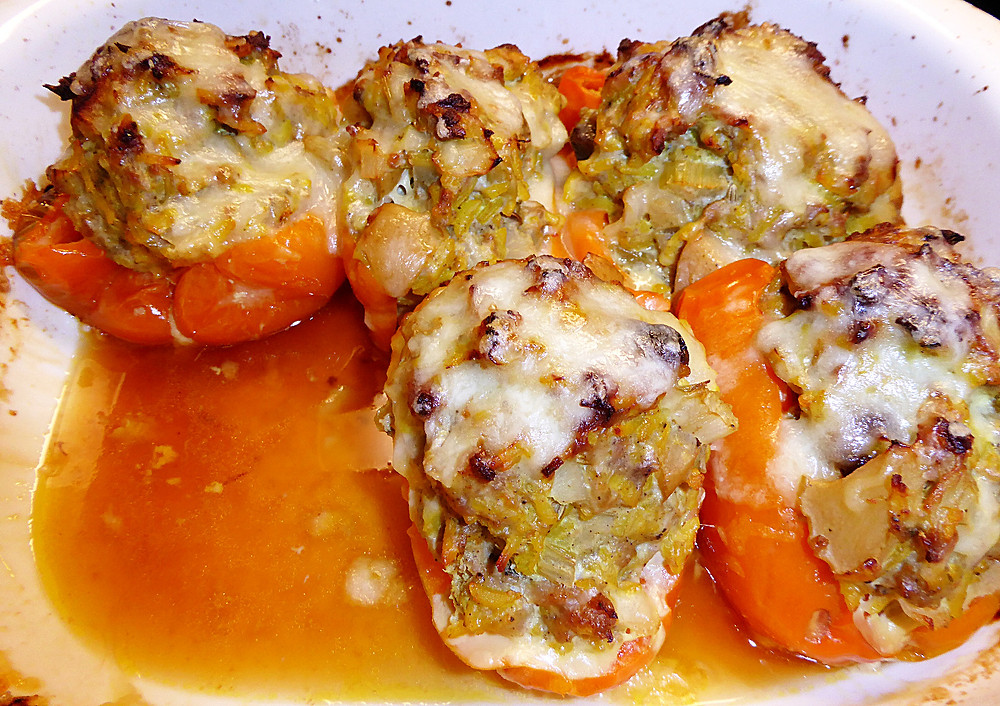 Not Your Mama's Stuffed Bell Peppers
