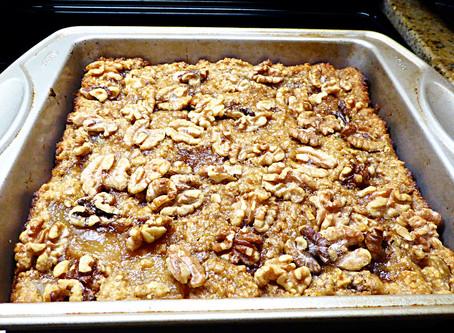 Quick Whole-Grain Apple Pudding Cake