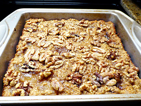 Quick Whole-Grain Apple Pudding Cake