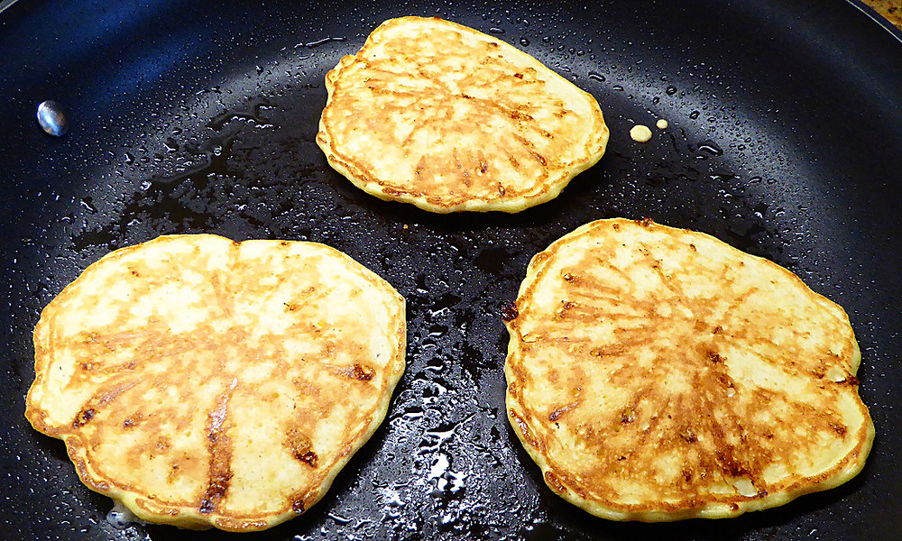 Low Fat Cottage Cheese Pancakes