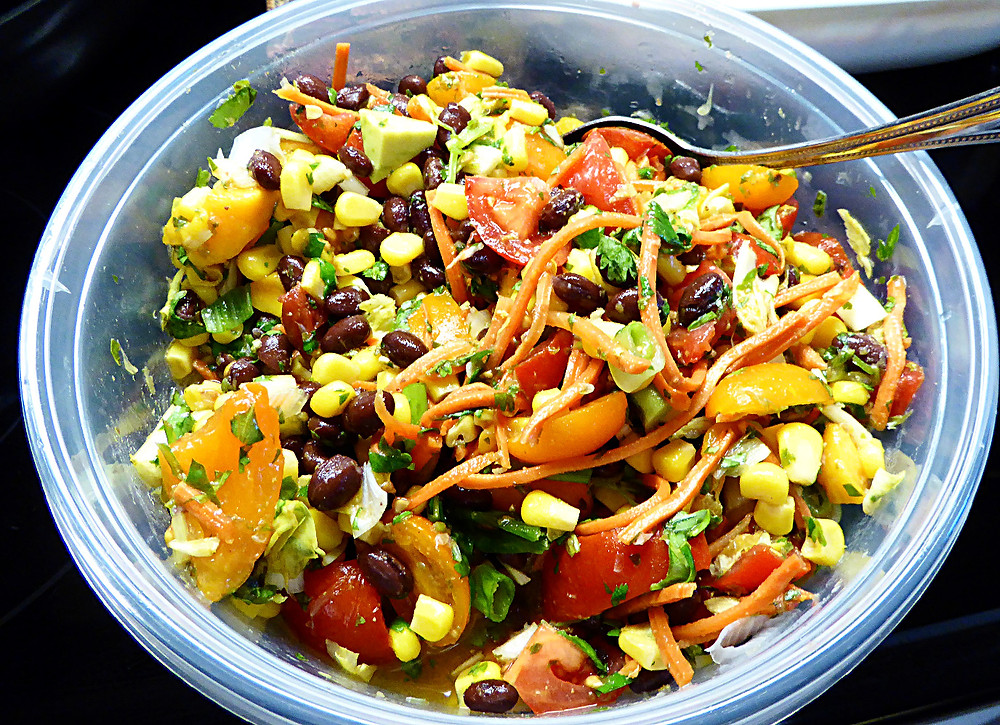 Tex-Mex Salad with Lime Dressing