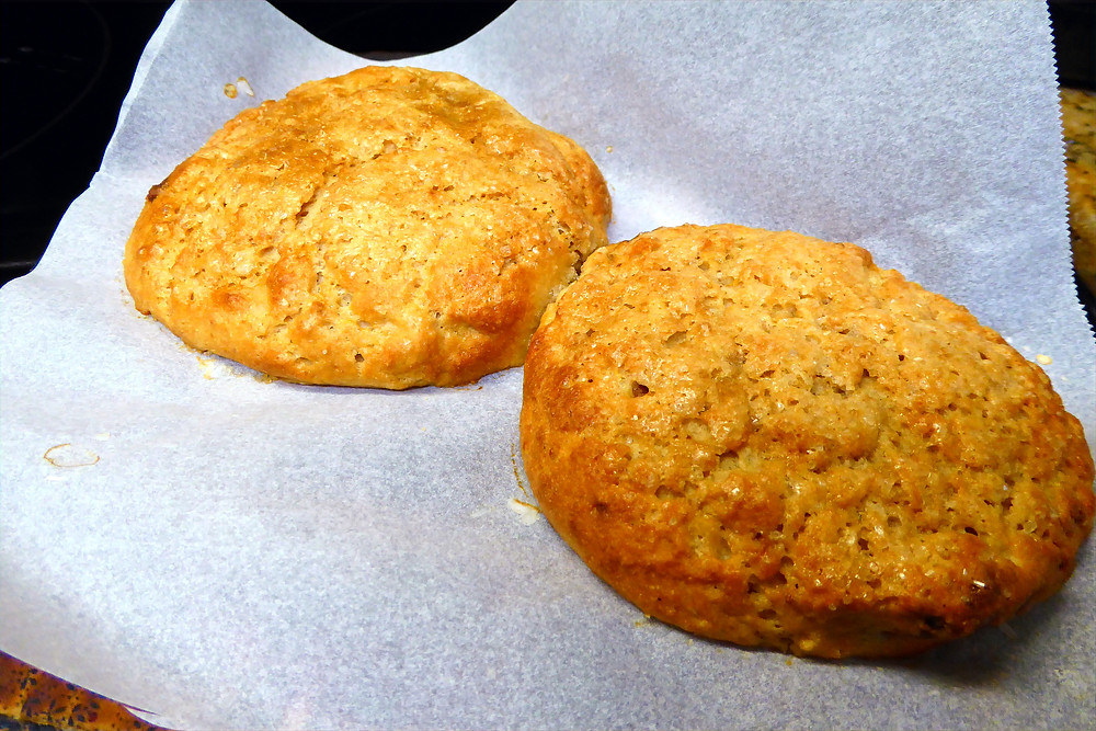 Simple, Quick Way to Use Your Sourdough Discard: Make Strawberry-Orange Scone Buns in Your Air Fryer